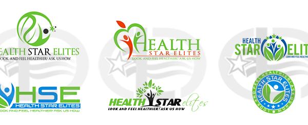 custom logo design for health and lifestyle