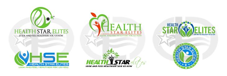 Health logo options