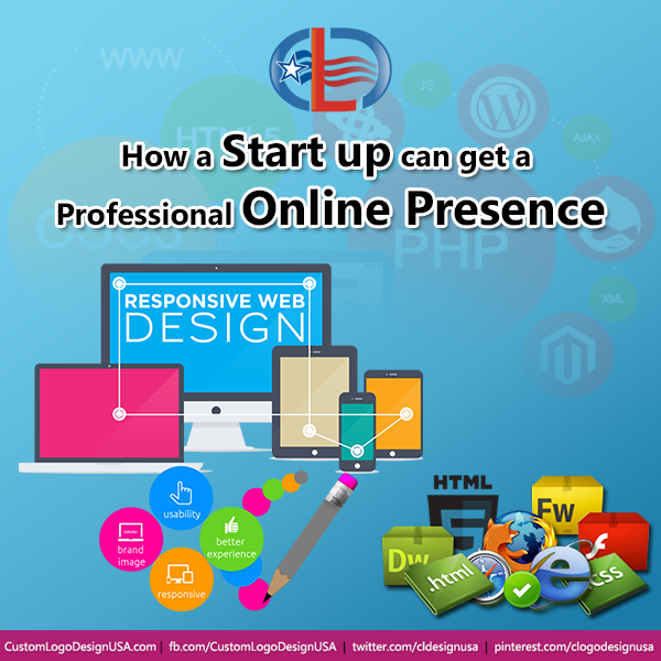 How a start up can get a professional online presence
