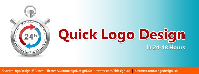 Quick Logo Design in 24 - 48 Hours