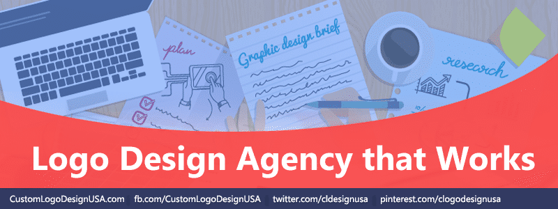 Logo design agency that works custom logo company for Design agency usa